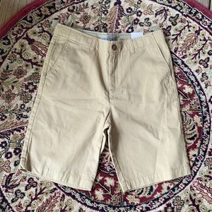 Lands' End Chino Cadet Khaki Shorts